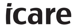 iCare Logo Black and White